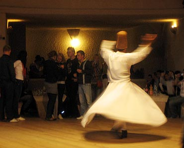 Just like belly dancers, the twirling Dervishes are much in demand too