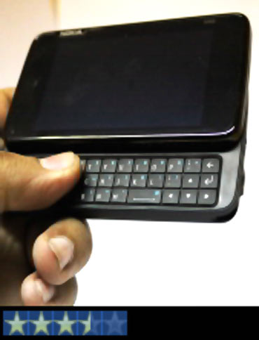 Nokia N900: A beast, but not very easy to tame