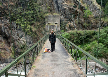 These small suspension bridges are a lifeline for villages beyond the reach of vehicles