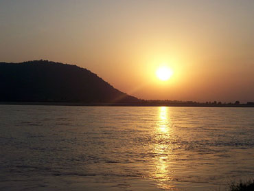 Sunset at Bhuban
