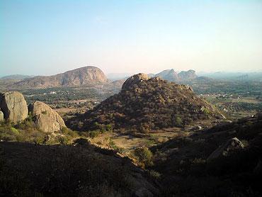 Ramanagara Hills, Bangalore