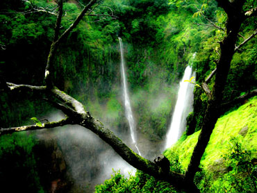 Thoseghar waterfalls near Satara in Maharashtra.