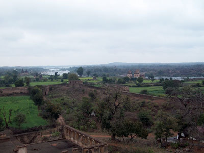 Orchha's serene landscape