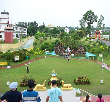 Buddhist Temple, Dehradun