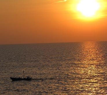 Harne Bandar beach, Maharashtra