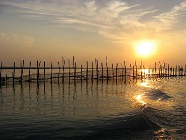 Lake Chilika, Orissa