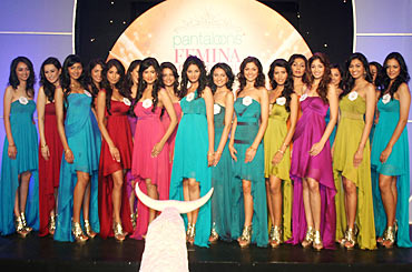 Miss India finalists 2010 make their debut
