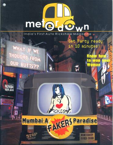 A cover picture of Meter Down's March issue