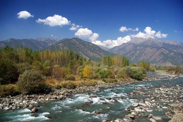 Lidder River, Kashmir