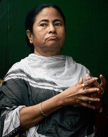 Trinamool chief Mamata Banerjee