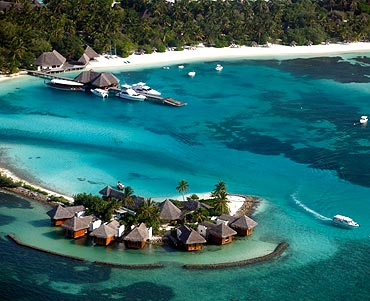 25. The Maldives