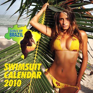 Girls of Brazil Swimsuit Calendar 2011 cover