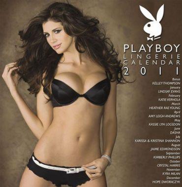 Playboy Lingerie Calendar 2011 cover