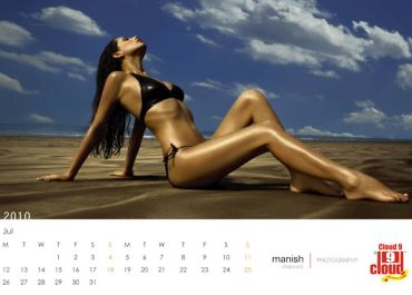 From the Cloud 9 Calendar 2010 by Manish Chaturvedi