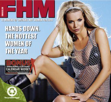 FHM Calendar 2011 cover