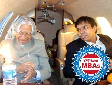 APJ Abdul Kalam with Srijan Pal Singh