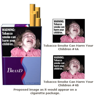 Tobacco smoke can harm your children