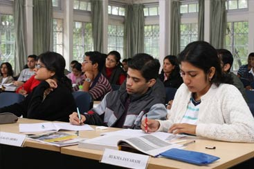Students at IIM Shillong