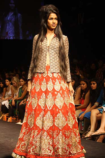A Krishna Mehta creation