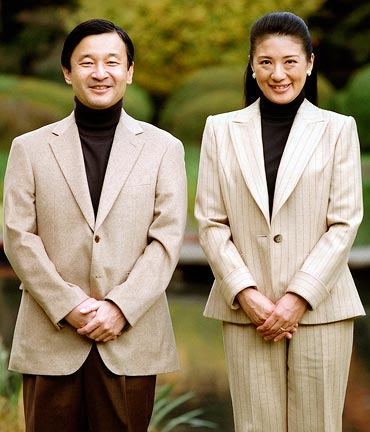 Crown Princess Masako and Crown Prince Naruhito of Japan