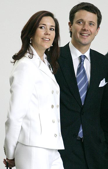 Mary, Crown Princess of Denmark and Frederik, Crown Prince of Denmark