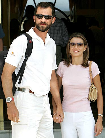 Letizia, Princess of Asturias and Felipe, Prince of Asturias