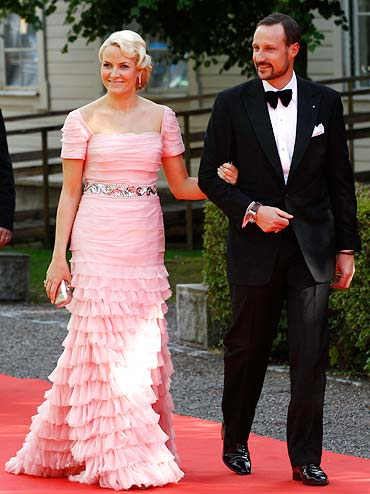 Mette-Marit, Crown Princess of Norway and Haakon, Crown Prince of Norway
