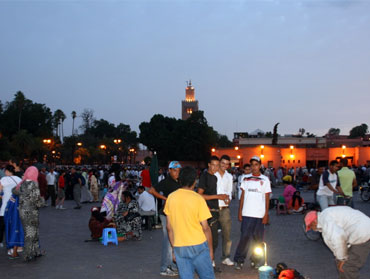 Djemaa Al Fna is Marrakech 's most famous square