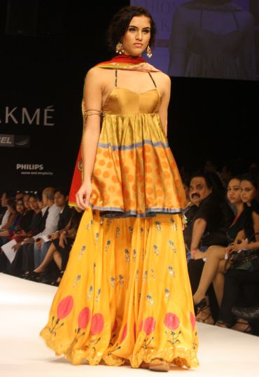This cutting-edge festive style by Anupamaa Dayal is just the thing to stand out