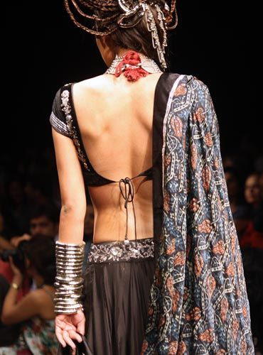 A backless beauty from Anita Dongre