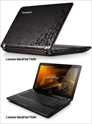 Lenovo Y-series notebooks.