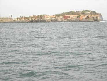 Goree Island is just 3 km off the Senegalese coast