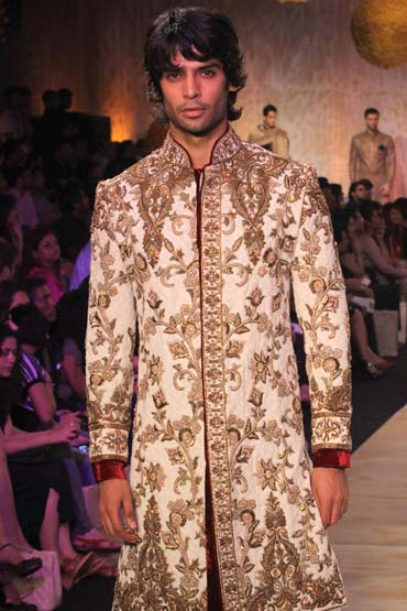 d75eef088cc47 Malhotra and Mrs Bachchan create bridal magic - Rediff Getahead