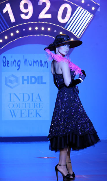 Preity Zinta for Salman Khan at the HDIL India Couture Week