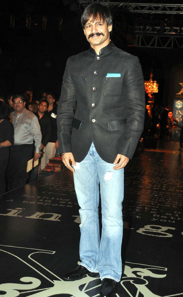 Vivek Oberoi at HDIL India Couture Week