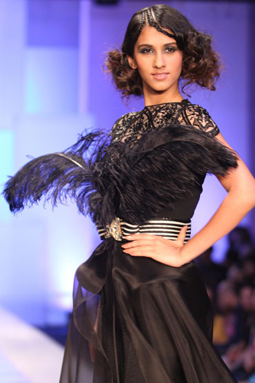 A Shahab Durazi creation at HDIL India Couture Week