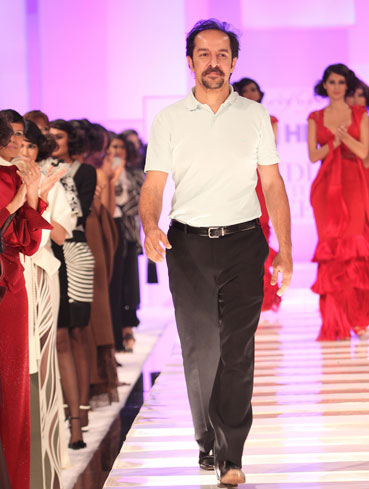 Shahab Durazi at HDIL India Couture Week