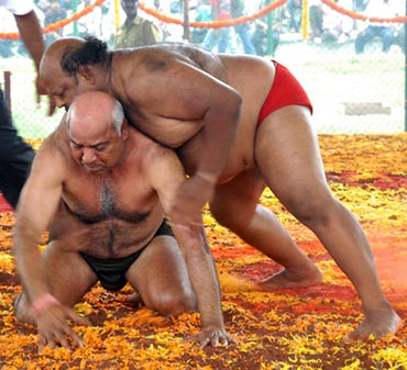 The traditional wrestling matches are a must-see