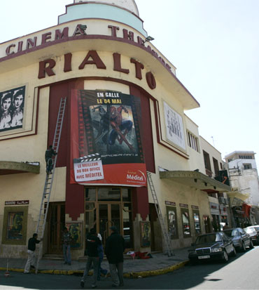 The Art Deco Rialto cinema in Casablanca screens Morocco's biggest box-office successes