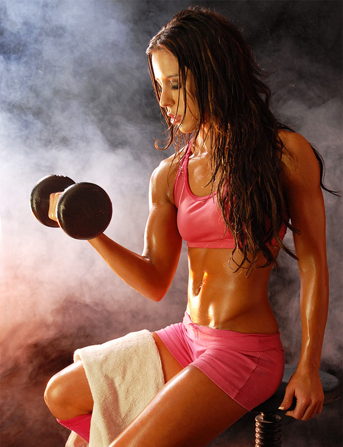 Gym training focuses more on strength and cardio.