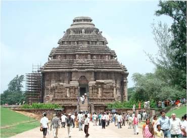 Konark Temple, Orissa