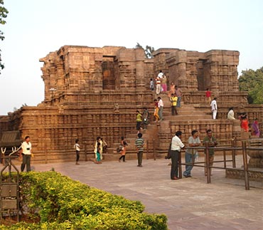 The Nata Mandir at Konark