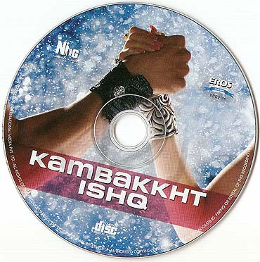 A CD of Anu Malik's music