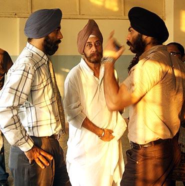 Organisers Harpreet Singh Banga, Puran Singh Banga and Manjeet Singh