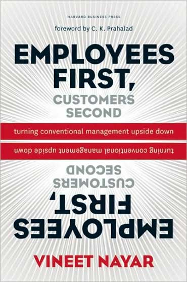 Cover of the book Employees First Customers Second.