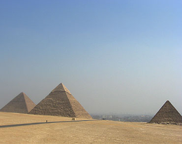 The Great Pyramid of Giza is also calle the Pyramid of Khufu