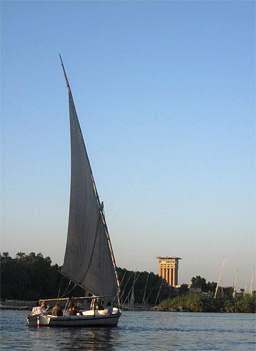 Cruising on the Nile