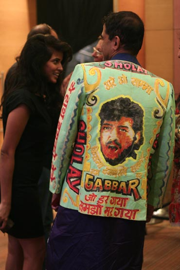 Gabbar makes a style statement at Fashion Week