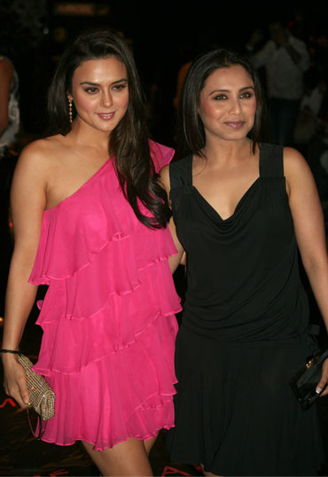 Preity Zinta and Rani Mukerji
