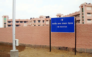 A road sign to IIM Rohtak